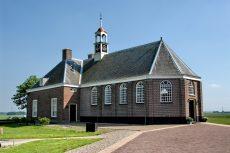 Kerkje op de Middelbuurt van Schokland.