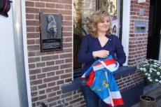 Onthulling plaquette Roosje Vecht
